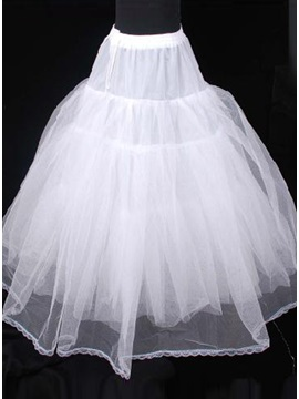Charming Ball Gown Fluffy Style Gauze Wedding Petticoat