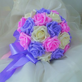 Fine Colours Rose Bridesmaid Wedding Bouquet