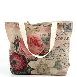 Beautiful Flower Graphic Print Women Tote