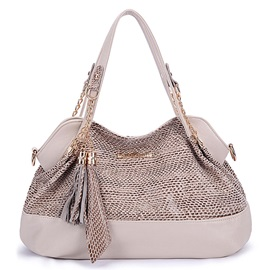Fashion Tassel Sequins Women Tote Bag