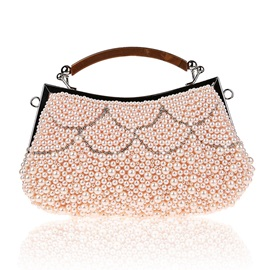 Beads Decortaed Women's Clutch