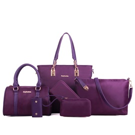 Casual Nylon Women's Bag Set ( Six Bags )
