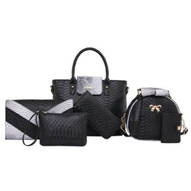 Functional Snake Grain Deluxe 6 Pieces of Bag Sets