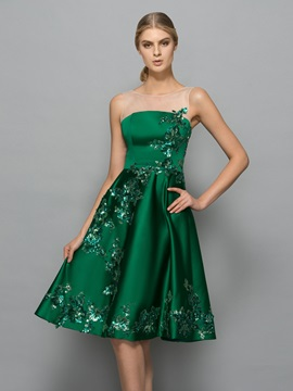 Modern Straps Sequins Knee-Length Cocktail Dress & Cocktail Dresses from china