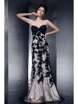 Graceful Sweetheart Mermaid Lace Long Olga's Evening Dress & Evening Dresses for less