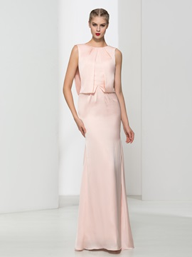 Graceful Straps Beading Draped Sheath Evening Dress & discount Evening Dresses