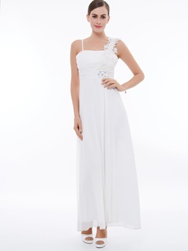 Empire Waist Straps Appliques Beading Evening Dress & inexpensive Evening Dresses