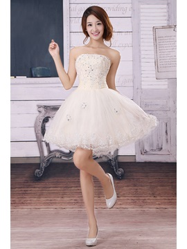 Amazing A-Line Short Appliques Sequins Lace Sweet 16 Dress & Prom Dresses from china