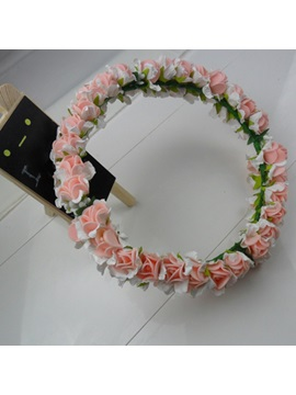 New Color Flowers Bride Headwear