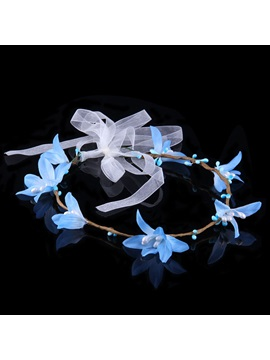 Stunning Fresh Nice Contracted Bohemia Garland High-Grade Manual Bridal Garland