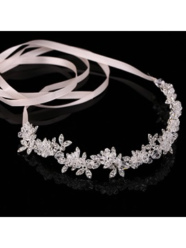 Brilliant White Crystal Wedding Tiara