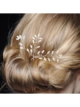 All-Matched Pearls Decorated Wedding Hairpin