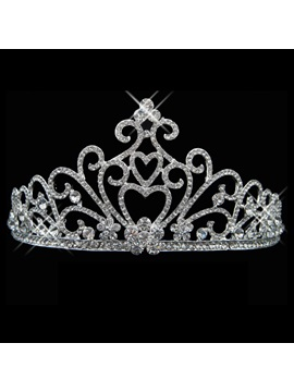 Celebrity Alloy with Rhinestone Wedding Bridal Tiara