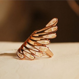 Personality Peacock Tail Index Finger Ring