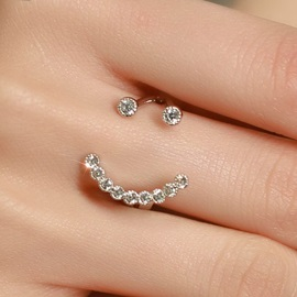 Elegant Smile Design Opening Ring
