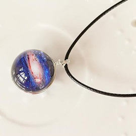 Distinctive Starry Sky Pendant Necklace