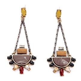Alloy Hollow Women Earrings