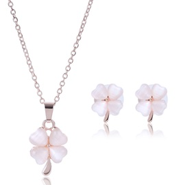 Chic Flower Shaped Jewelry Set for Women