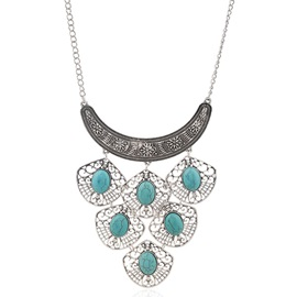 European Style Alloy Hollow Out Necklace