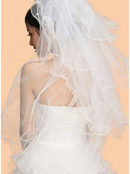 Faddish Fingertip Tull Wedding Bridal Veil