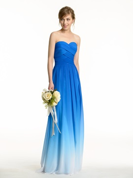 Ruched Sweetheart Zip-up Exclusive Color Waves Bridesmaid Dress & Bridesmaid Dresses for sale