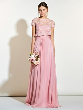 Beautiful Sweetheart Long Bridesmaid Dress With Jacket & Bridesmaid Dresses online