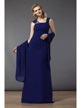 Gogerous A-line Bowknot Strapless Floor-Length Bridesmaid Dress & Bridesmaid Dresses for less