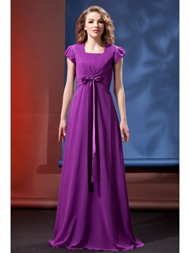 Awesome Column/Sheath Square Short-Sleeve Daria's Bridesmaid Dress & Bridesmaid Dresses under 300