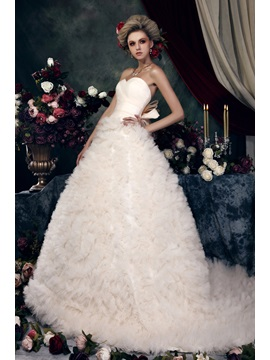 Gorgeous A-line Ruched Sweetheart Floor-Length Color Dasha's Wedding Dress & unusual Wedding Dresses