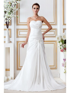 Empire Sweetheart Chapel Appliques Gerogia's Bridal Gown & Wedding Dresses for sale