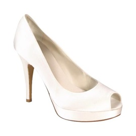 Top Quality Satin Upper Stiletto Heel Peep-toes Wedding/Prom Shoes