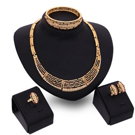 European Style Alloy Women Jewelry Set