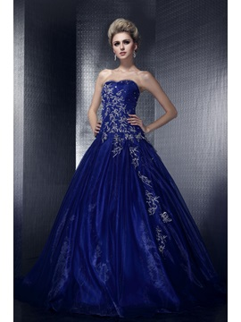 Amazing A-Line Sweetheart Embroidery Sequins Lace-up Long Dasha's Evening Dress & Ball Gown Dresses for sale