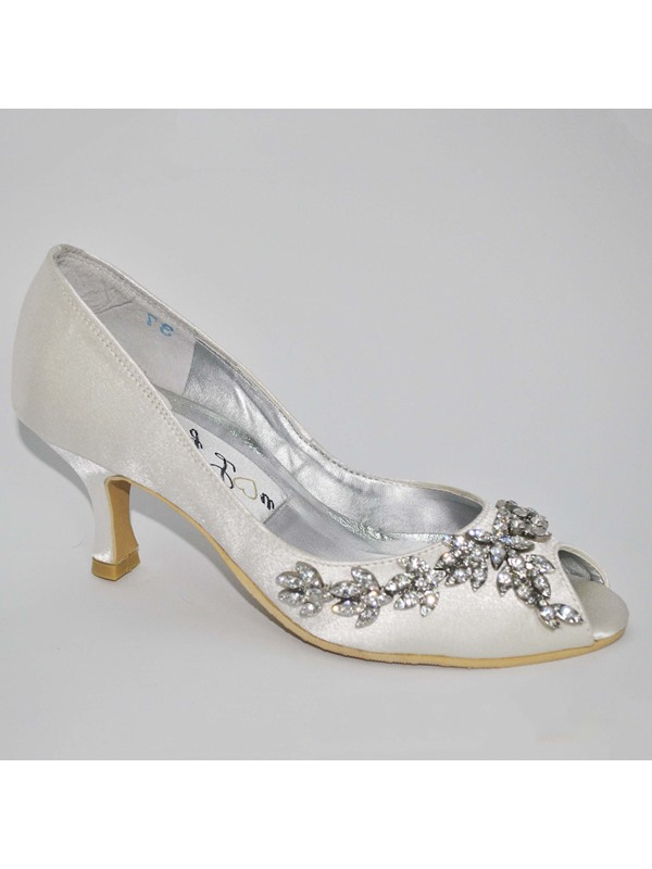 Best Selling Stiletto Heels Peep-toes Wedding Bridal Shoes