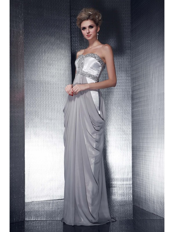 Gorgeous Sweetheart A-Line Beadings Dasha's Long Evening Dress