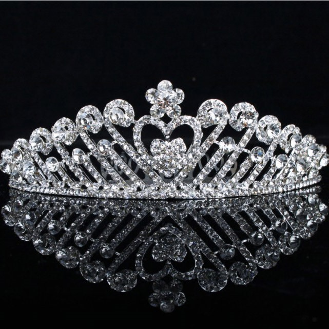 Delicate Alloy with Rhinestone Lady's Comb
