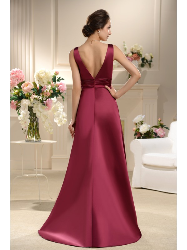 Remarkable Ruffles A-Line Floor-Length Bridesmaid Dress