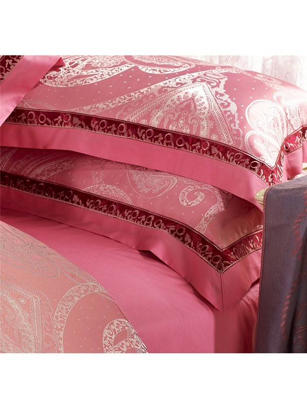 New Soft Silk and Cotton Print 4 Piece Bedding Sets