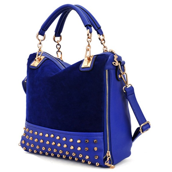 Fashion Rivet Korean Style Leather Women's Satchel