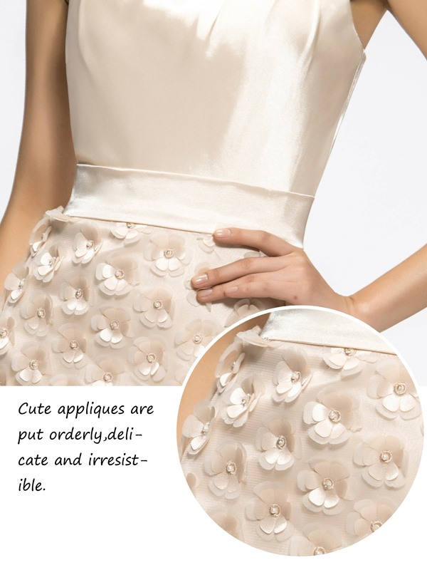 Special Sheath/Column Short-Length One-Shoulder Flowers Cocktail/Homecoming Dress