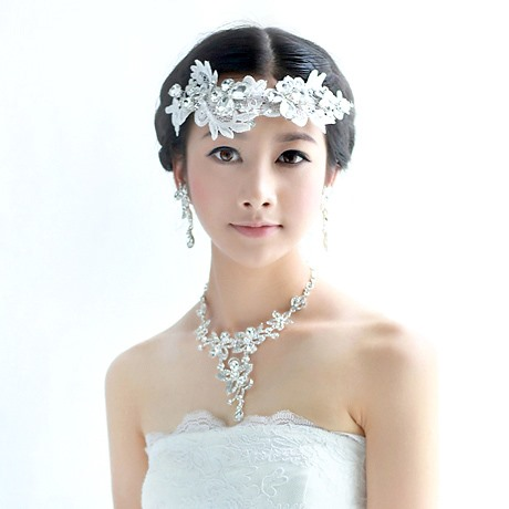 2014 New Lace Bride Frontlet