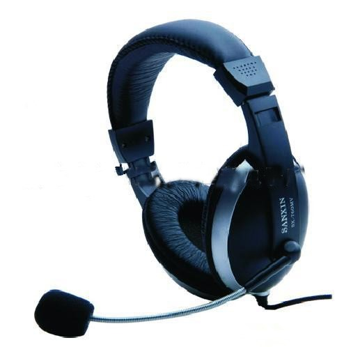 Wired Stereo Gaming Headphone With Mic Volume Control For PC
