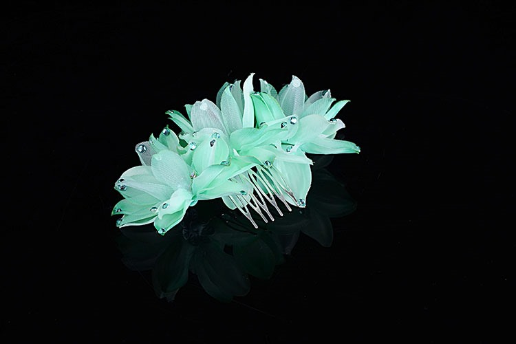 Flowers Alloy with Rhinestone Bridal Headband