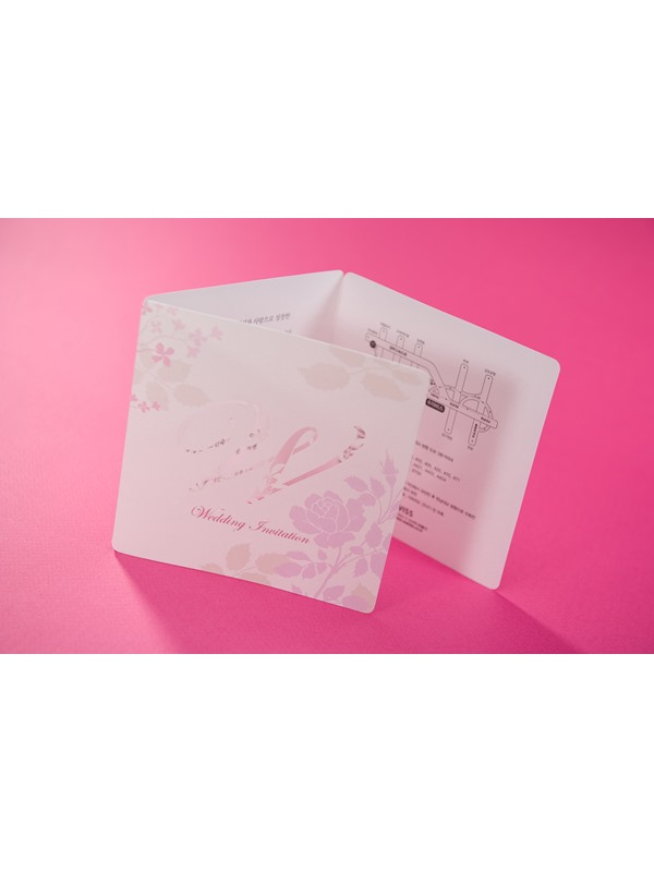 Classic Style Flat Card Invitation Cards (20 Pieces One Set)