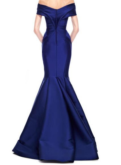 Timeless Off-the-Shoulder V-Neck Mermaid Long Evening Dress(Free Shipping)