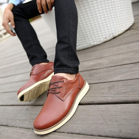 Patent Leather Solid Color Derbies