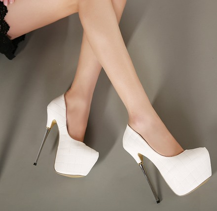 New Spring Cool Solid Color Pumps