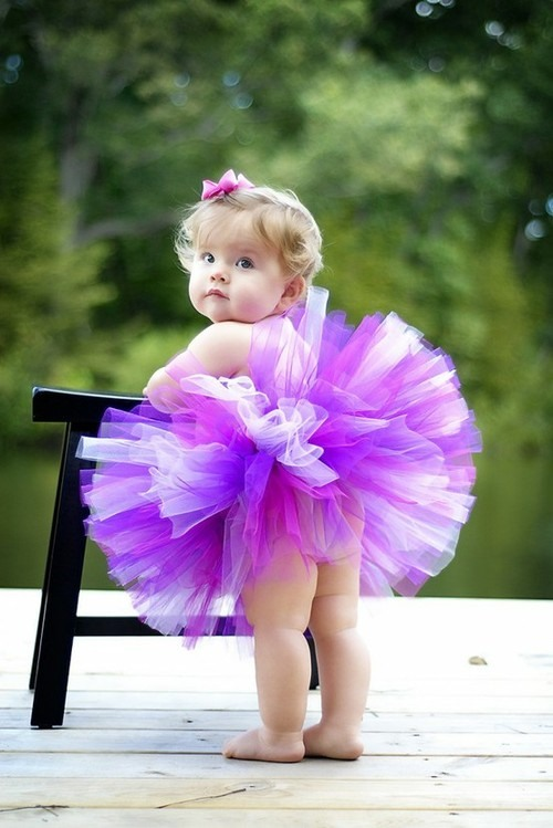 Short/Mini Strapless Empire Color Flower Girl Dress