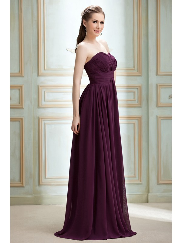 Draped A-line Floor-Length Sweetheart Nadya's Prom/Formal Dress