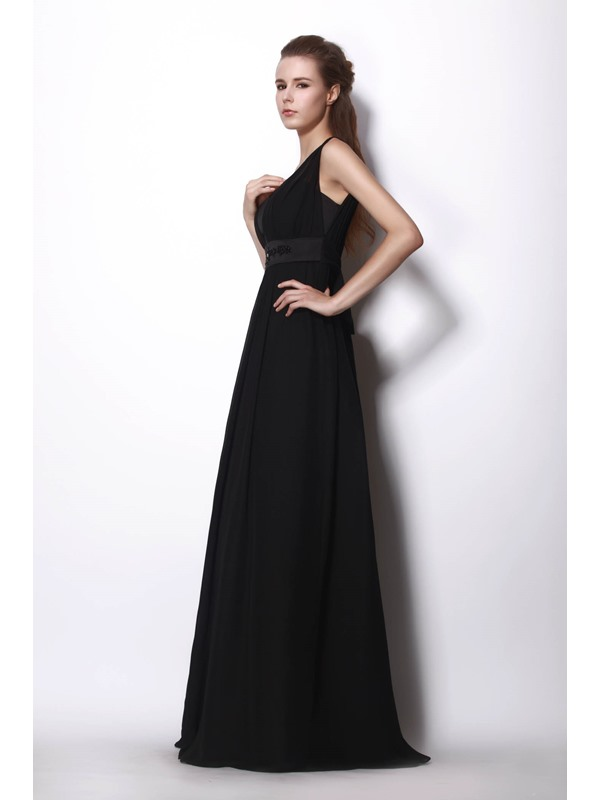 Popularable Sweep/Brush Train A-Line Alicja's Bridesmaid Dress